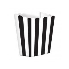 Black and White Favour Boxes - pk5