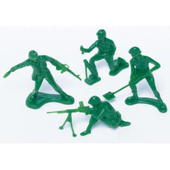 Novelty Army Soldiers Party Favours - pk24