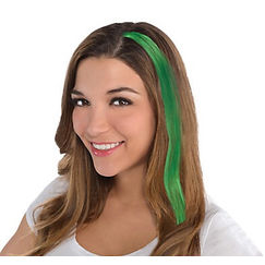 Green Hair Extension Clip