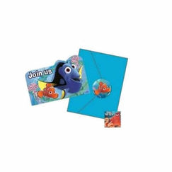 Finding Dory Party Invitations Kit