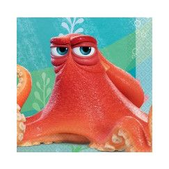 Small Finding Dory Napkins - pk16