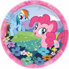 My Little Pony Snack Plates - pk8