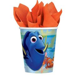 Finding Dory Paper Cups - pk8