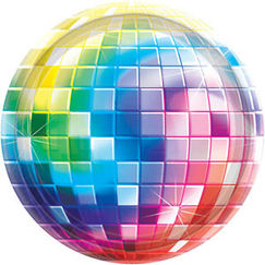 Large Disco Fever Plates