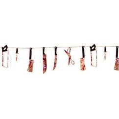 Hanging Bloody Weapons Garland
