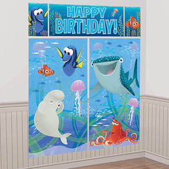 Finding Dory Wall Scene Setter Kit