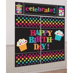 Party On Birthday Scene Setter Kit