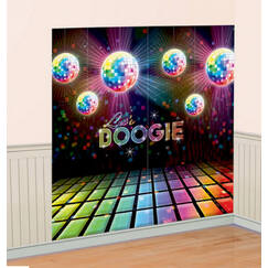 Disco Fever Party Wall Decorating Kit