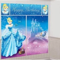 Cinderella Birthday Scene Setter Kit