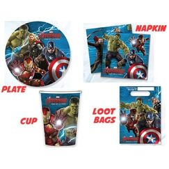 Avengers Party Pack for 8