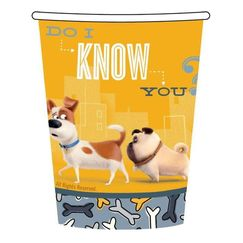 The Secret Life Of Pets Cups - pk8