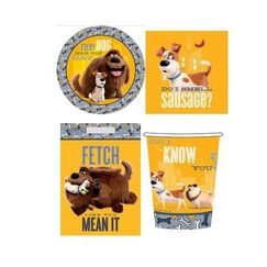 The Secret Life Of Pets Party Pack for 8