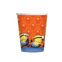 Minions & Despicable Me Cups - pk8