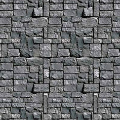 Stone Wall Backdrop Scene Setter