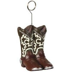 Cowboy Boots Balloon Weight
