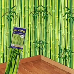 Green Bamboo Scene Setter Backdrop