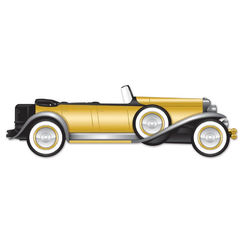Jointed 20's Gatsby Roadster Cut-out