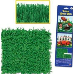 Green Tissue Grass Mat - pk2