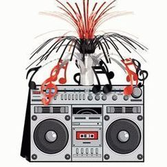 Boom Box Music Centrepiece