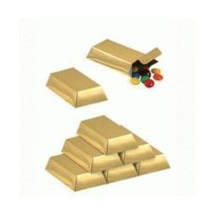 Gold Bar Favour Boxes