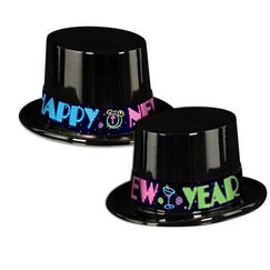 Neon Happy New Year Hat