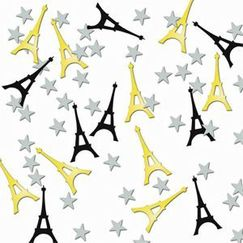 French Eiffel Tower Scatter