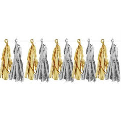 Gold And Silver Tassel Kit