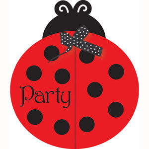 Ladybug Party Invitations - pk25