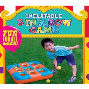 Inflatable 3 Frogs Game