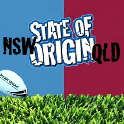 State Of Origin QLD vs NSW