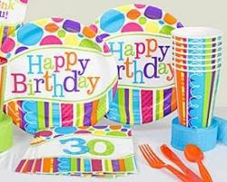 30th birthday party supplies and decorations for 30th birthday decoration packages