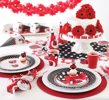 Ladybug Themed Party Supplies