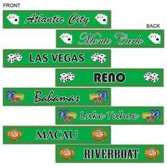 Gambling Destinations Street Signs - pk4