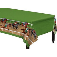 Horse Racing Tablecloth