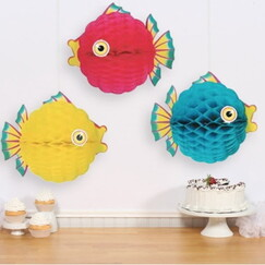 Hanging Tissue Bubble Fish - Each