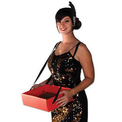 Cigarette Girl or Popcorn Girl Tray