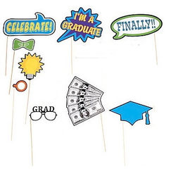 2016 Graduation Photo Stick Props - pk12