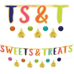 ! Sweets & Treats Banners - pk2