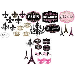 Day In Paris Cut-outs - pk30