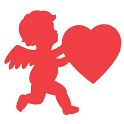 Cupid Cut-out (28cm)