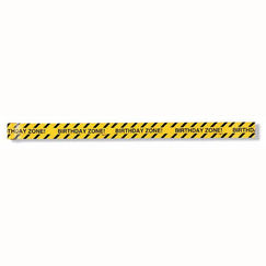 Birthday Zone Construction Warning Tape
