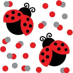 Ladybug Table Scatter