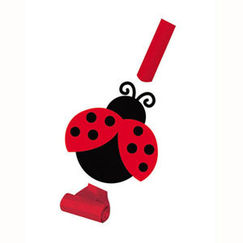 Ladybug Party Blowouts - pk8