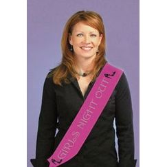 ! Girls Night Out Sash