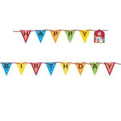 Farmhouse Fun Birthday Ribbon Banner
