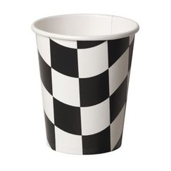 Checkered Flag Cups - pk8