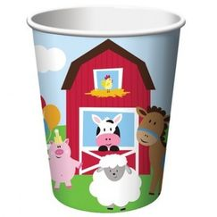 Farmhouse Fun Cups - pk8