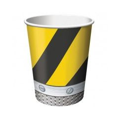 Construction Zone Cups - pk8
