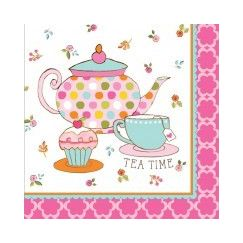 Large Tea Time Napkins - pk16
