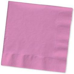 Candy Pink Napkins - Beverage